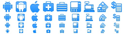 Android Style Icons