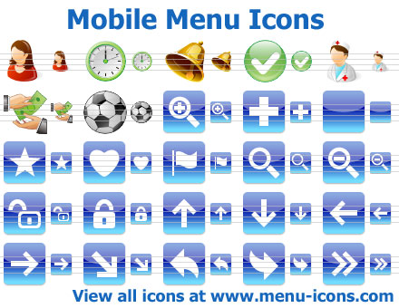App Menu Icons Screenshot