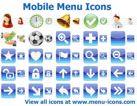 App Menu Icons full screenshot
