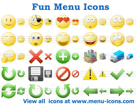 Fun Menu Icons
