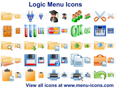 Click to view Logic Menu Icons 2011.1 screenshot