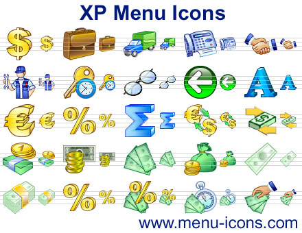 Click to view XP Menu Icons 2013 screenshot